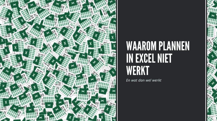 Planning Excel maken